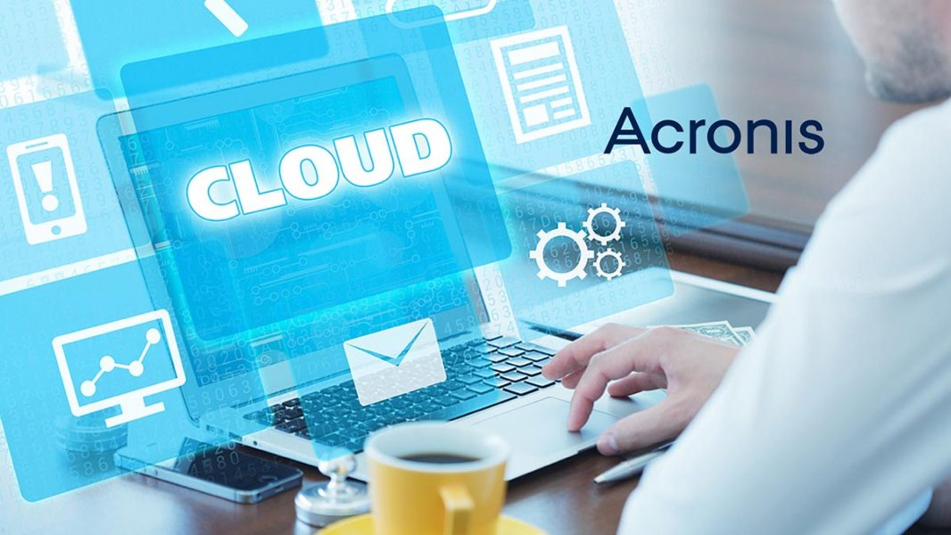 Disaster recovery Acronis